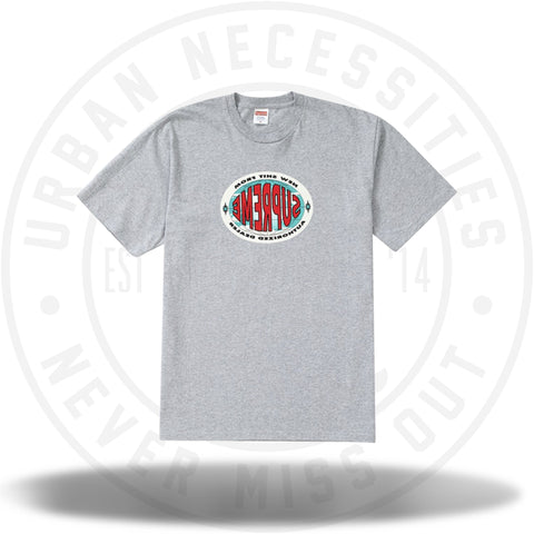 Supreme New Shit Tee Heather Grey-Urban Necessities