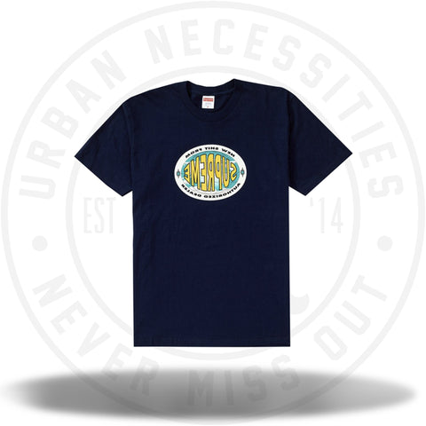 Supreme New Shit Tee Navy-Urban Necessities