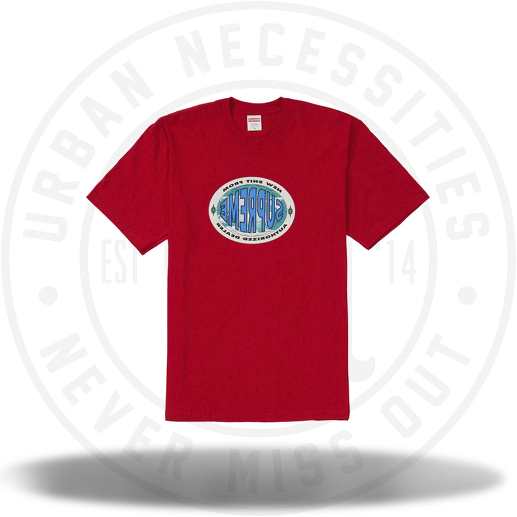 Supreme New Shit Tee Red-Urban Necessities
