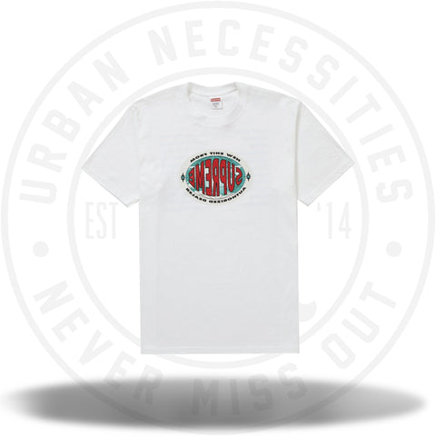 Supreme New Shit Tee White-Urban Necessities