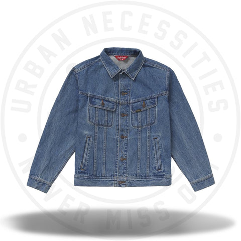 Supreme New York Painted Trucker Jacket Blue-Urban Necessities