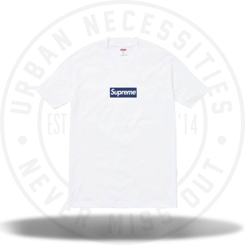 Supreme New York Yankees Box Logo Tee White-Urban Necessities