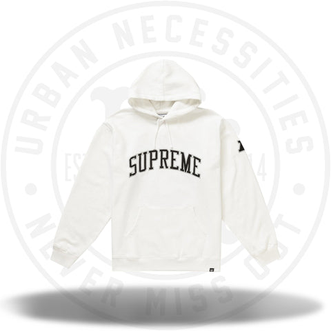 Supreme NFL x Raiders x '47 Hooded Sweatshirt White-Urban Necessities