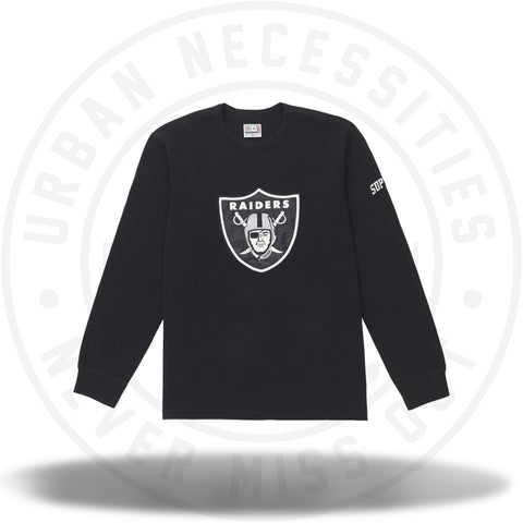 Supreme NFL x Raiders x '47 Thermal Black-Urban Necessities