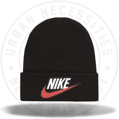 Supreme Nike Beanie Black-Urban Necessities