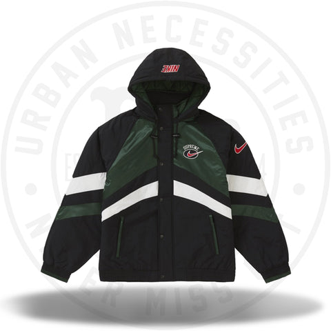 Supreme Nike Hooded Sport Jacket Green-Urban Necessities