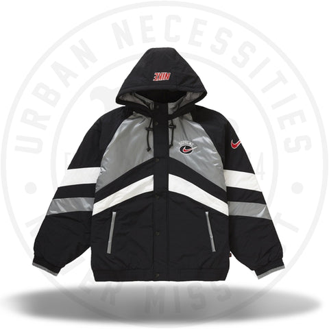 Supreme Nike Hooded Sport Jacket Silver-Urban Necessities