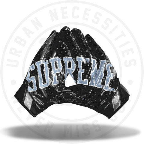 Supreme Nike Vapor Jet 4.0 Football Gloves Black-Urban Necessities