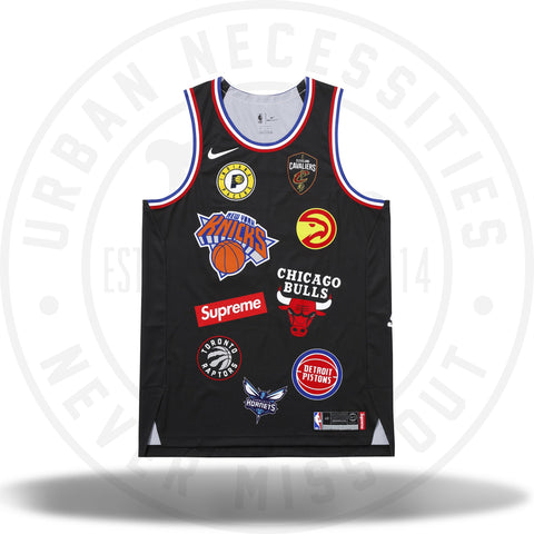 Supreme Nike/NBA Teams Authentic Jersey Black-Urban Necessities