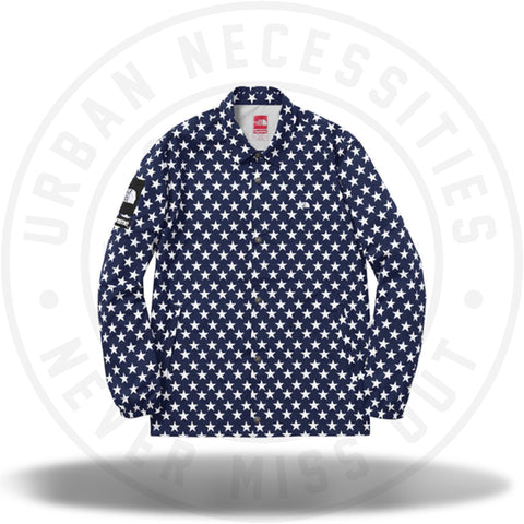 Supreme North Face Packable Coach Jacket Stars-Urban Necessities