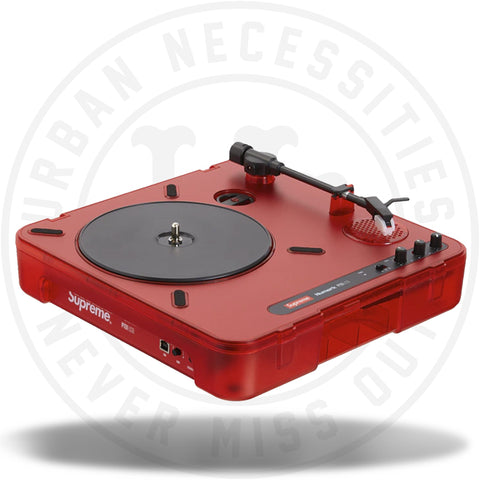 Supreme Numark PT01 Portable Turntable Red-Urban Necessities
