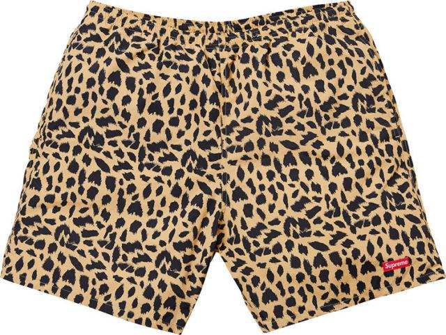 Supreme Nylon Water Short Leopard Beach pants-Urban Necessities