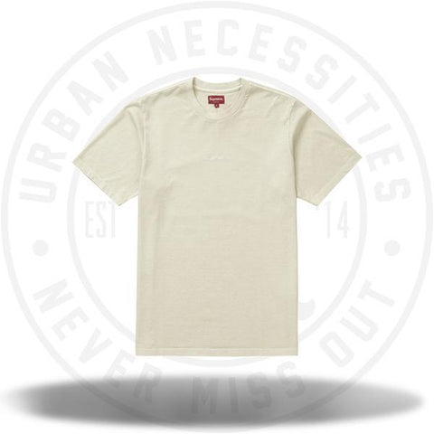 Supreme Overdyed Tee (SS19) Natural-Urban Necessities