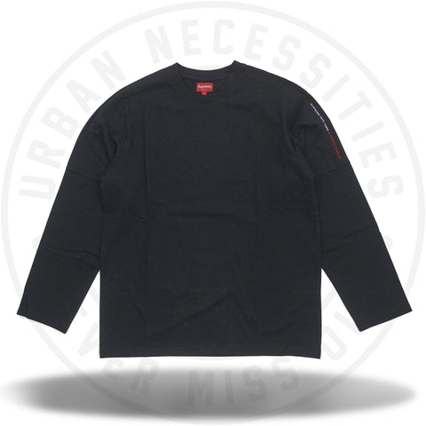Supreme Paneled L/S Top Black-Urban Necessities