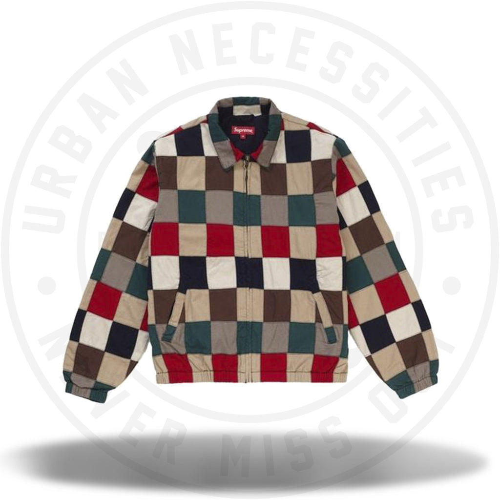 Supreme Patchwork Harrington Jacket Multicolor-Urban Necessities