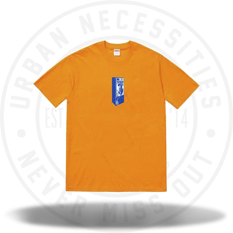 Supreme Payphone Tee Bright Orange-Urban Necessities