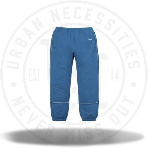 Supreme Piping Sweatpant Dark Aqua-Urban Necessities