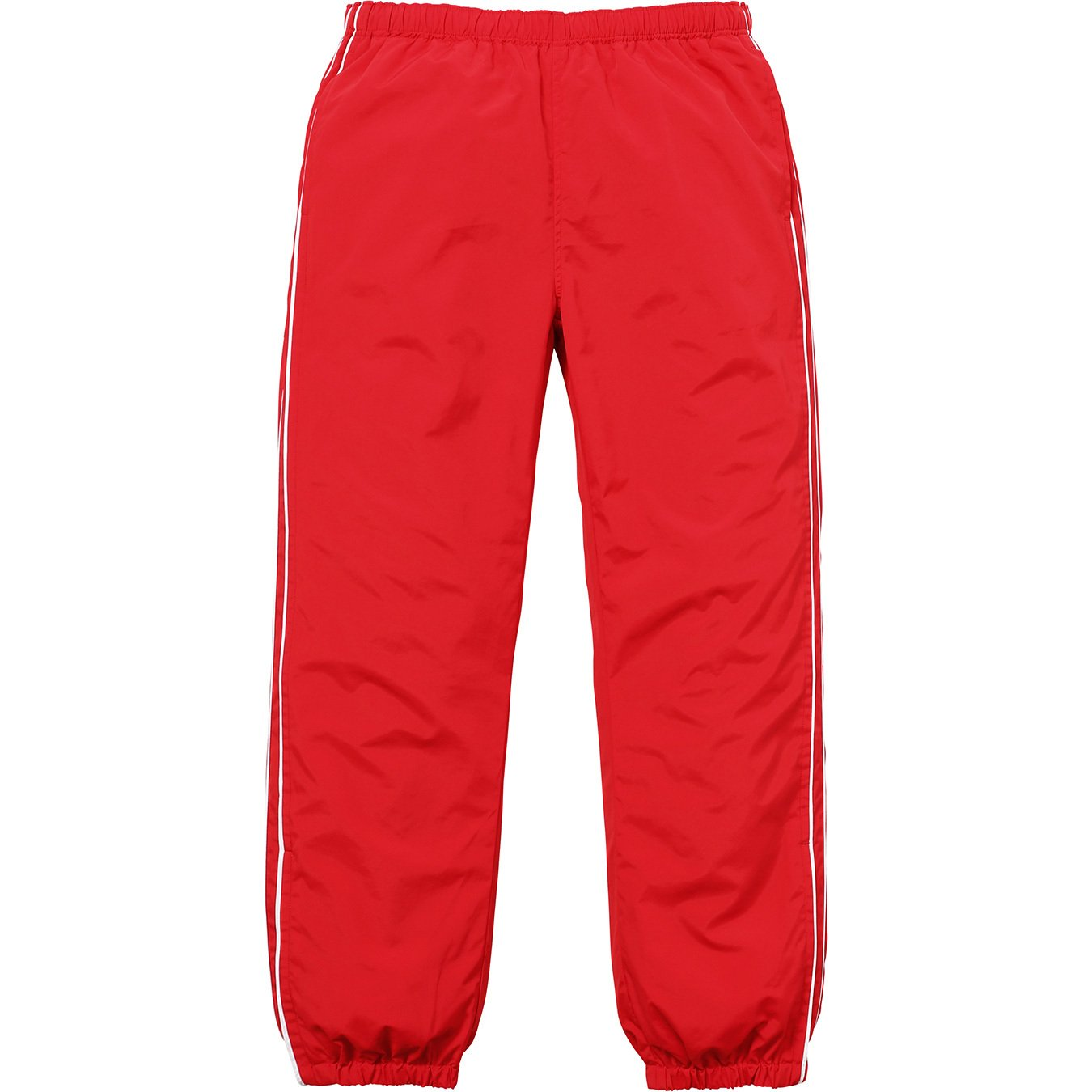 Supreme Piping Track Pant Red