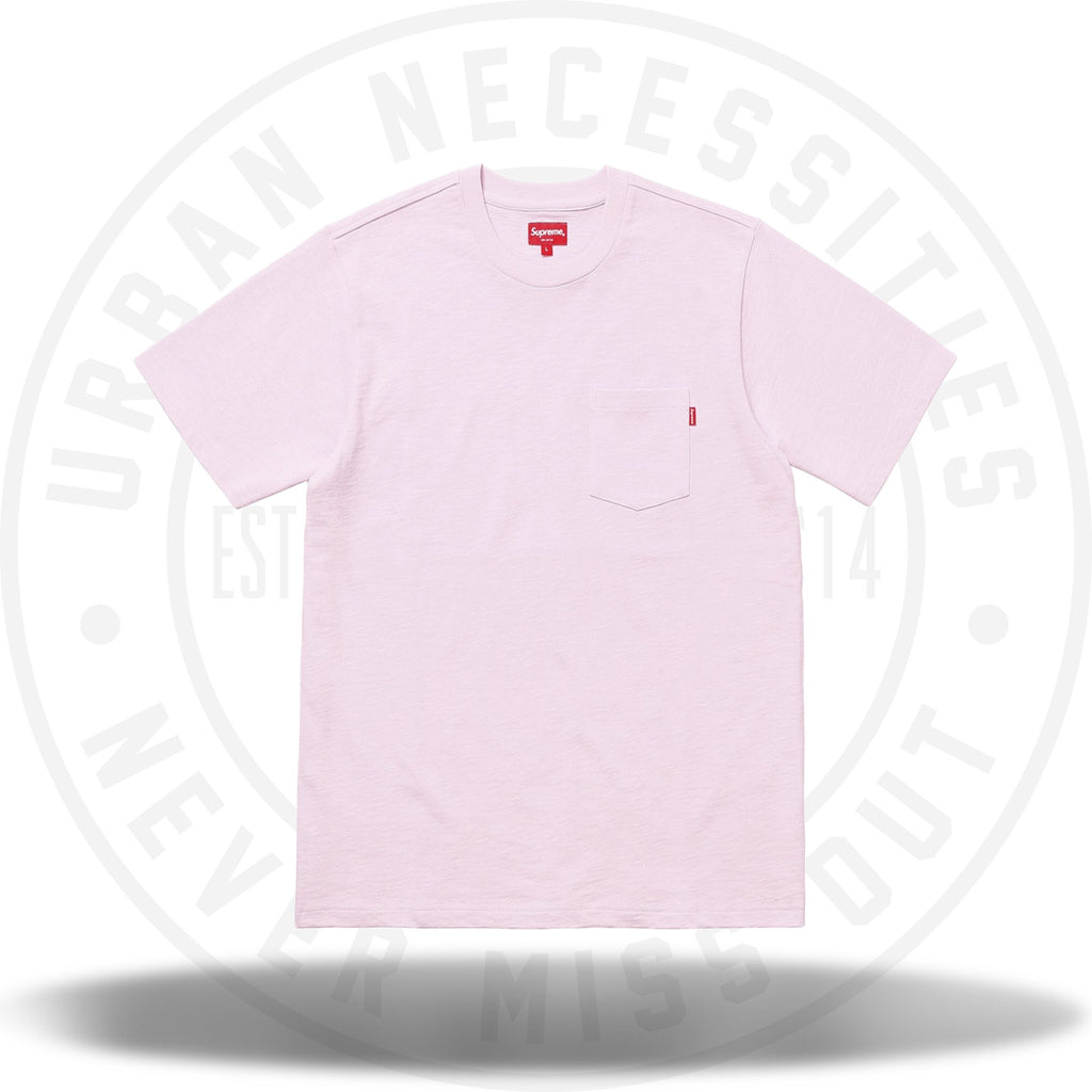 Supreme Pocket Tee Light Purple-Urban Necessities