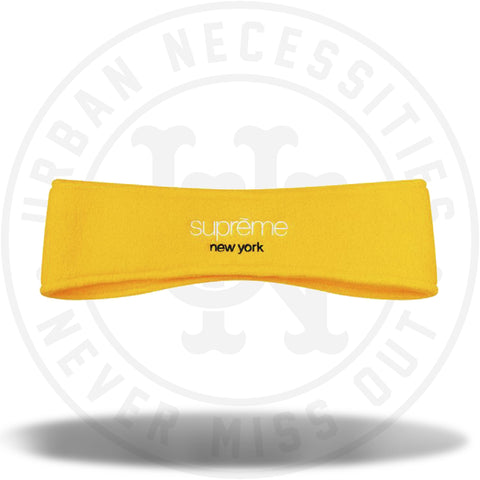 Supreme Polartec Headband Yellow-Urban Necessities