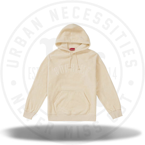 Supreme Polartec Hooded Sweatshirt (FW18) Natural-Urban Necessities