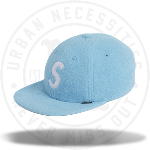 Supreme Polartec S Logo 6-Panel Light Blue-Urban Necessities