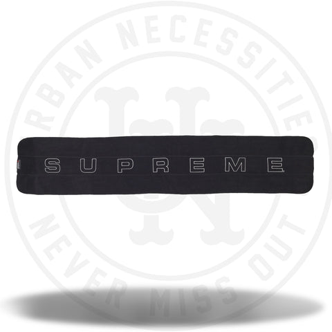 Supreme Polartec Scarf Black-Urban Necessities