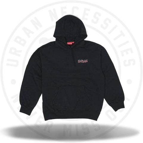 Supreme Portrait Hooded Sweatshirt Black-Urban Necessities