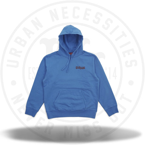 Supreme Portrait Hooded Sweatshirt Bright Royal-Urban Necessities