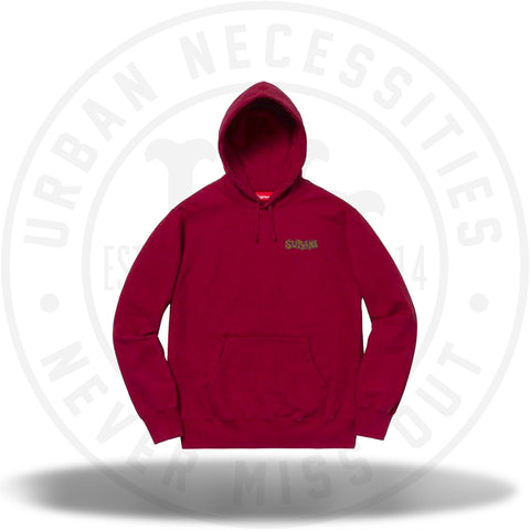 Supreme Portrait Hooded Sweatshirt Cardinal-Urban Necessities
