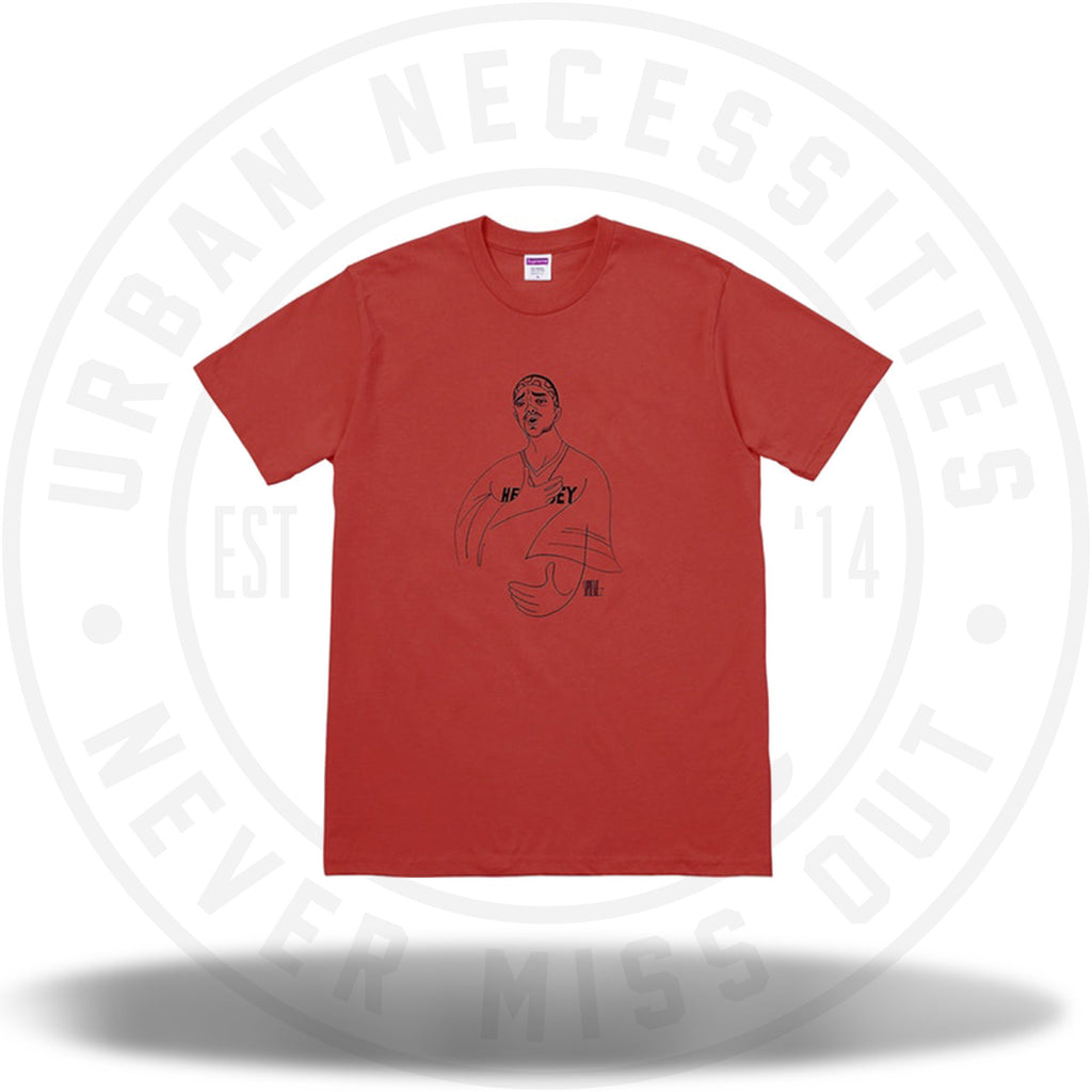 Supreme Prodigy Tee Red-Urban Necessities