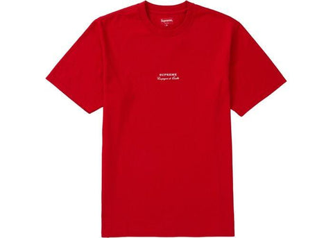 Supreme Qualite Tee Red-Urban Necessities