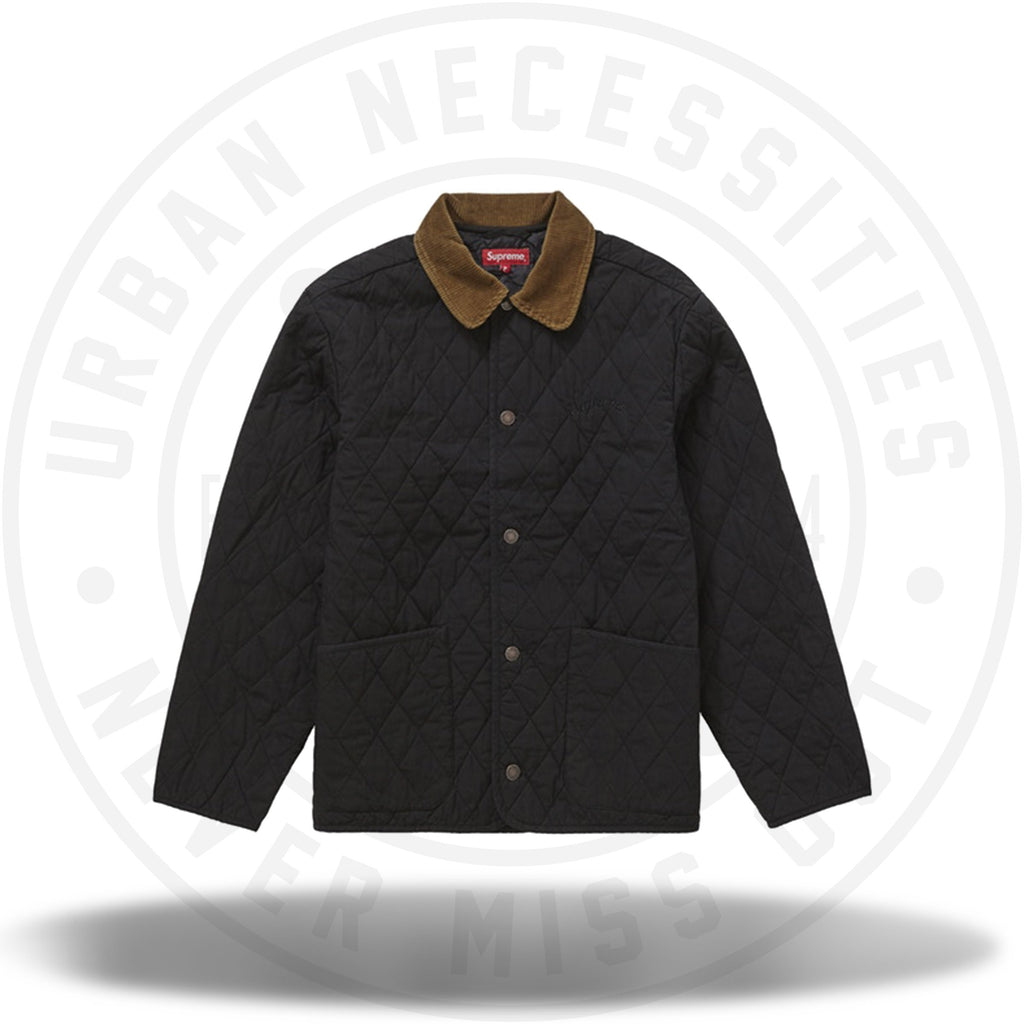Supreme Quilted Paisley Jacket Black-Urban Necessities