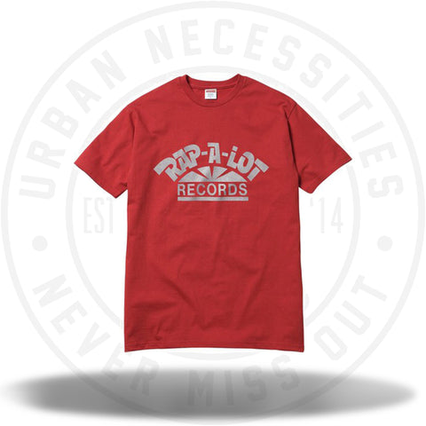Supreme Rap A Alot Records Tee Red-Urban Necessities