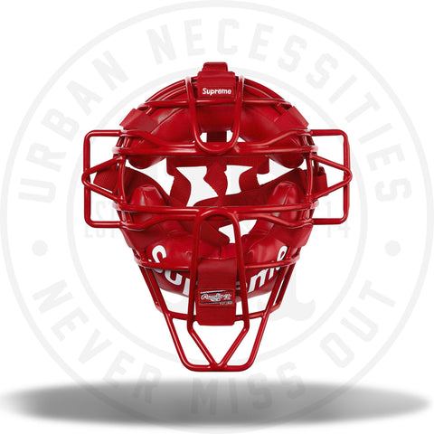 Supreme Rawlings Catcher's Mask Red-Urban Necessities