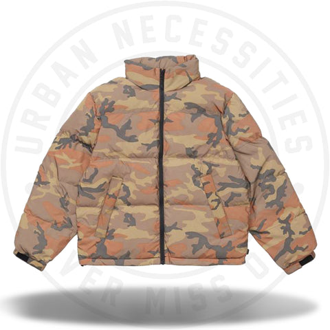 Supreme Reflective Camo Down Jacket Orange Camo-Urban Necessities
