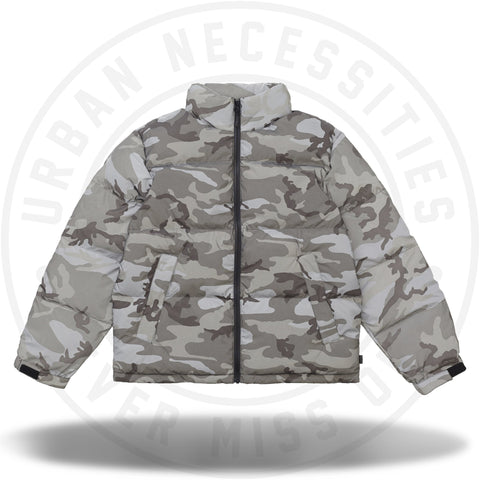 Supreme Reflective Camo Down Jacket Snow Camo-Urban Necessities