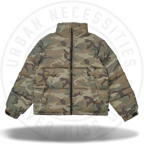 Supreme Reflective Camo Down Jacket Woodland Camo-Urban Necessities
