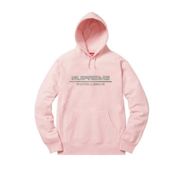 Supreme Reflective Excellence Hooded Sweatshirt Pink-Urban Necessities