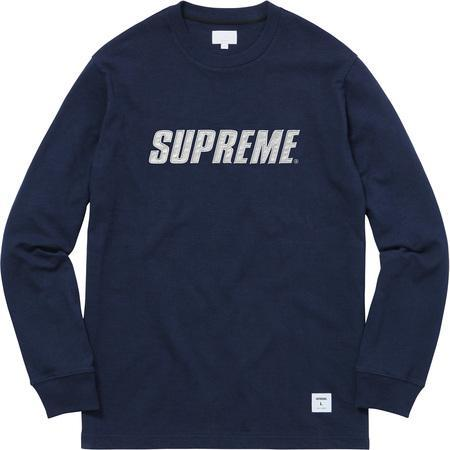 Supreme Reflective L/S Top Navy-Urban Necessities