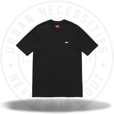 Supreme Reflective Small Box Tee Black-Urban Necessities