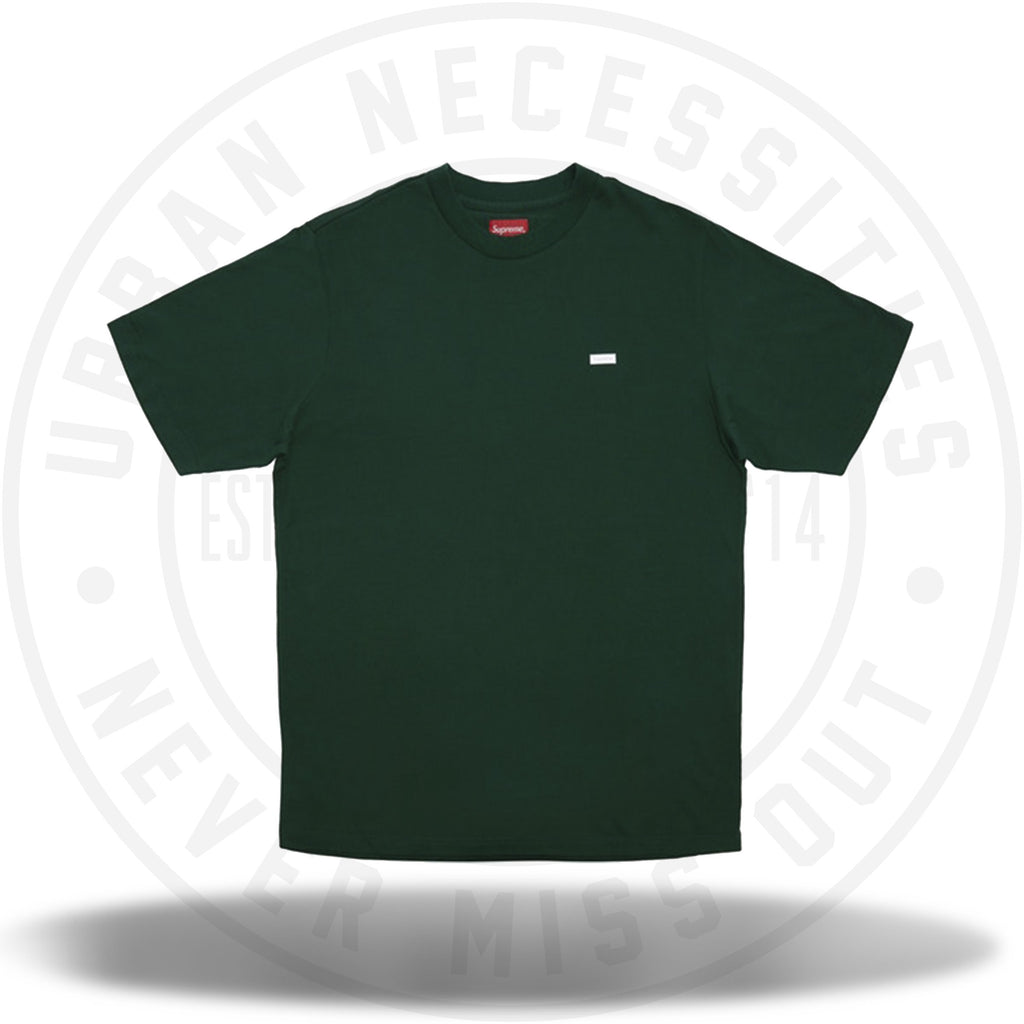 Supreme Reflective Small Box Tee Dark Green-Urban Necessities