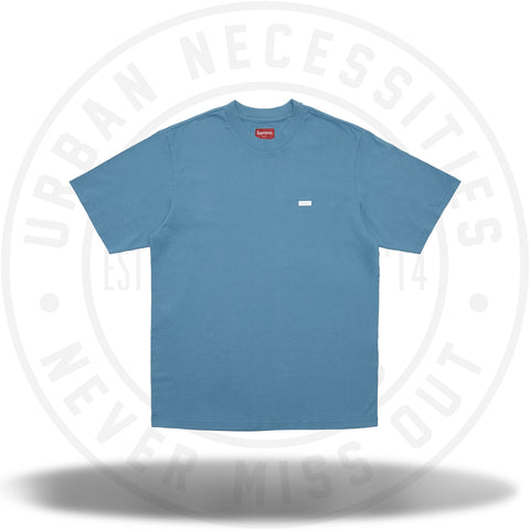 Supreme Reflective Small Box Tee Dusty Blue-Urban Necessities