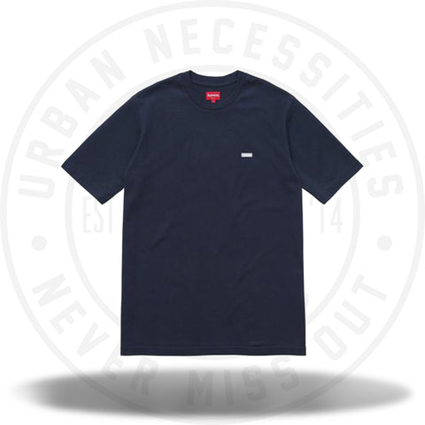Supreme Reflective Small Box Tee Navy-Urban Necessities