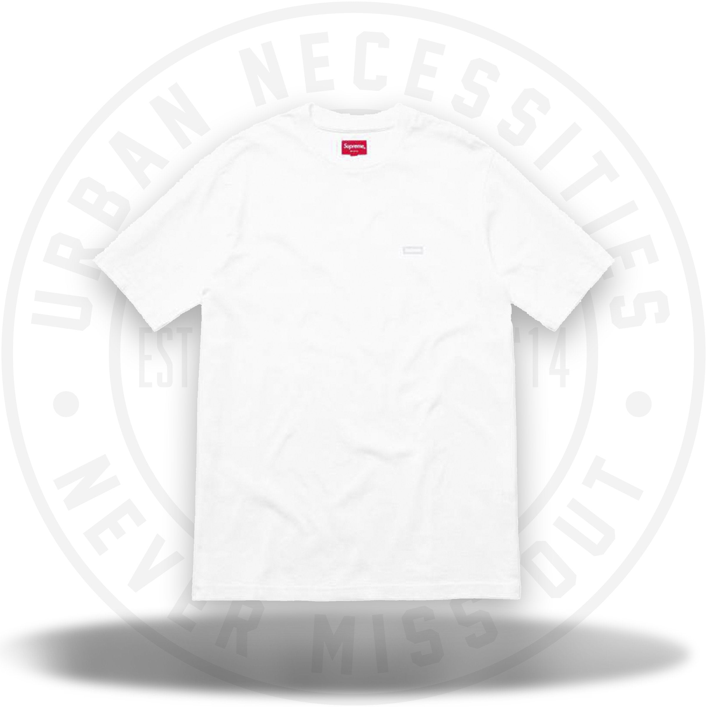 d0f3c0af Supreme Reflective Small Box Tee White – Urban Necessities