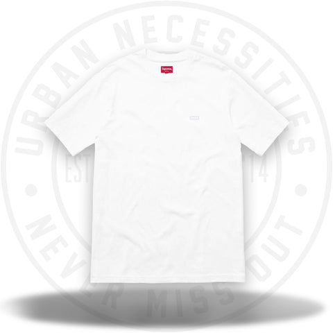 Supreme Reflective Small Box Tee White-Urban Necessities