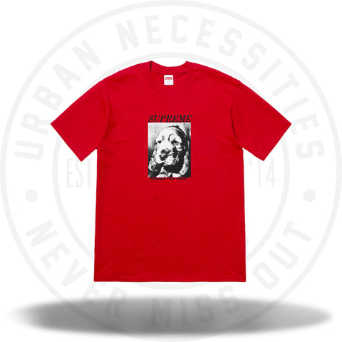 Supreme Remember Tee Red-Urban Necessities