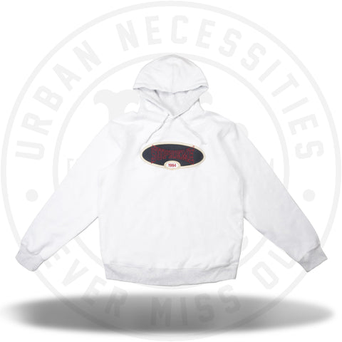 Supreme Reverse Fleece Hooded Sweatshirt (SS18) Ash Grey-Urban Necessities
