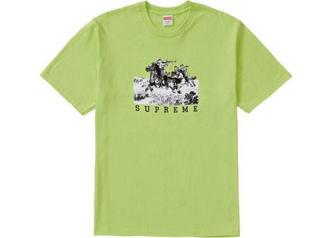 Supreme Riders Tee Neon Green-Urban Necessities