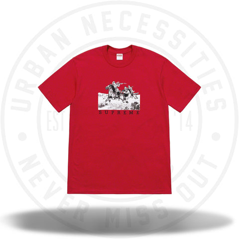 Supreme Riders Tee Red-Urban Necessities
